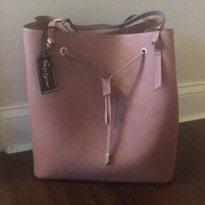 BNWT Foley & Corinna faux leather tote
